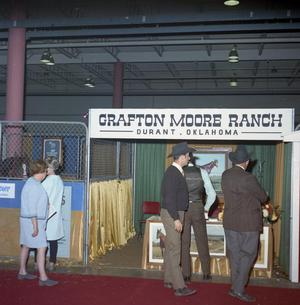 Primary view of object titled '[Grafton Moore Ranch Exhibit]'.