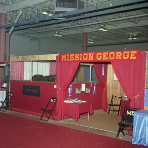 Primary view of object titled '[Mission George Exhibit]'.