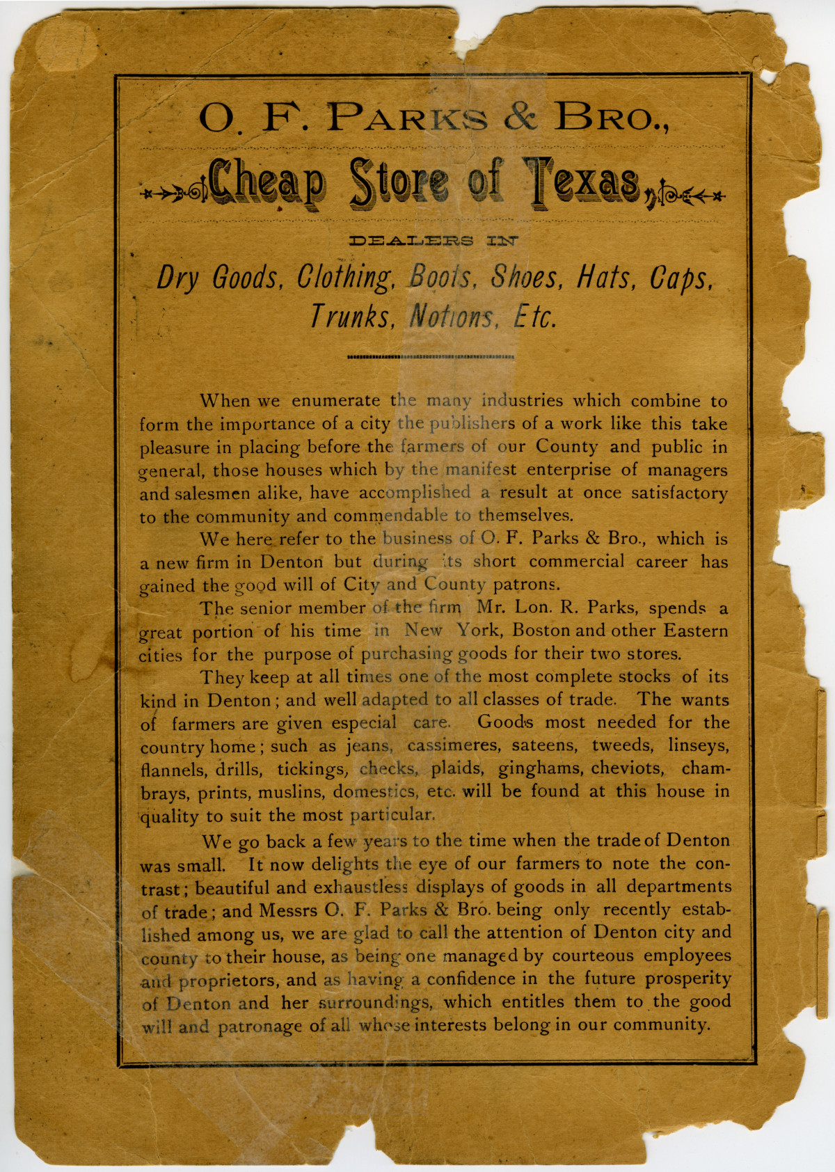 [1890] Denton Business Review and Directory                                                                                                      [Sequence #]: 2 of 43