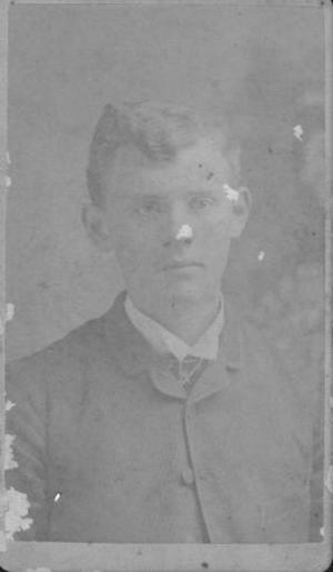 Primary view of object titled '[Portrait of a Young Man]'.