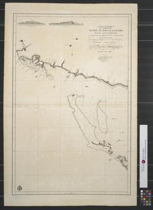 Primary view of Carta esferica que comprehende desde el rio Guaurabo : hasta Boca-Grande en la parte meridional de la Isla de Cuba levantada en 1803.