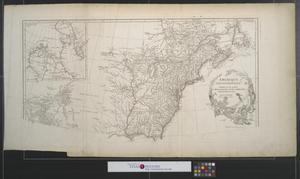 Primary view of Amérique septentrionale : Publiée sous les auspices de Monseigneur le duc d'Orleans [Sheet 1].