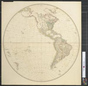 Primary view of [Map of the Western Hemisphere]
