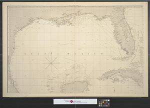 Primary view of object titled 'A general chart of the West Indies and Gulf of Mexico : Describing the gulf and windward passages, coasts of Florida, Louisiana, and Mexico, Bay of Honduras and Mosquito Shore; likewise the chart of the Spanish Main to the mouths of the Orinoco [Sheet 1].'.