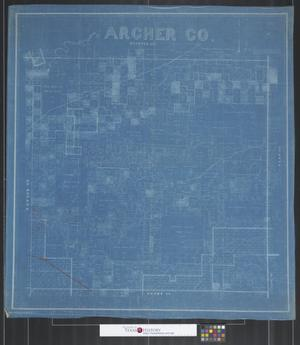 Primary view of object titled 'Archer Co. [Texas].'.