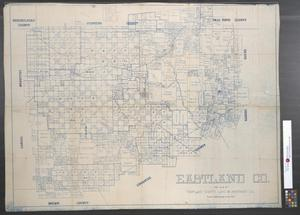 Primary view of object titled 'Eastland Co. [Texas]: For sale by Eastland County Land & Abstract Co.'.