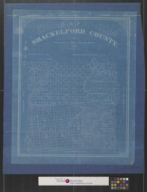 Primary view of object titled 'Map of Shackelford County [Texas].'.