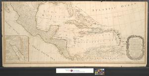 Primary view of A new map of North America, with the West India Islands : Divided according to the preliminary articles of peace, signed at Versailles, 20, Jan. 1783. Wherein are particularly distinguished the United States and the several provinces, governments & ca. which compose the British dominions; Laid down according to the latest surveys and corrected from the original materials, of Goverr. Pownall, Membr. of Parliamt. 1783 [Sheet 2].