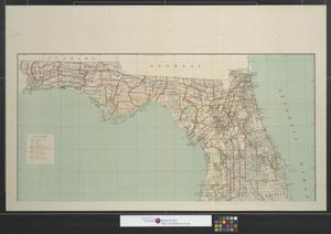 Primary view of object titled 'State of Florida [Sheet 1].'.