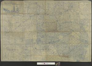 Primary view of object titled 'Heydrick's map of Eastland and part of Erath, Comanche, Brown, Coleman and Callahan Counties, Texas.'.