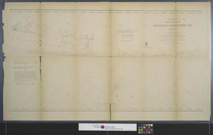 Primary view of object titled 'Coast chart no. 107 : Matagorda Bay, Texas [Sheet 2].'.