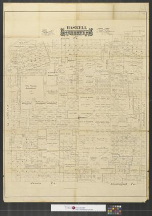 Primary view of object titled 'Haskell County, State of Texas.'.