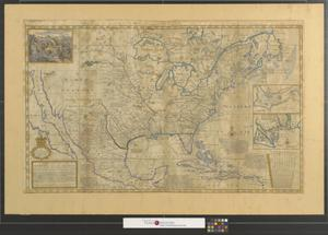 Primary view of A new map of the north parts of America claimed by France under ye names of Louisiana, Mississipi, Canada, and New France with ye adjoining territories of England and Spain : to Thomas Bromsall, esq., this map of Louisiana, Mississipi & c. is most humbly dedicated, H. Moll, geographer.