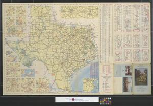 Primary view of object titled 'Texas official highway map: Summer edition.'.