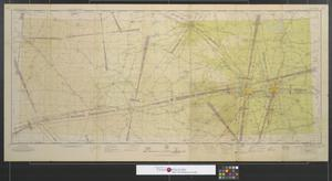 Primary view of object titled 'Dallas (Q-5) sectional aeronautical chart.'.