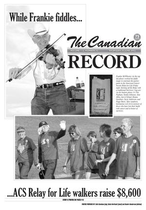 Primary view of object titled 'The Canadian Record (Canadian, Tex.), Vol. 112, No. 25, Ed. 1 Thursday, June 20, 2002'.