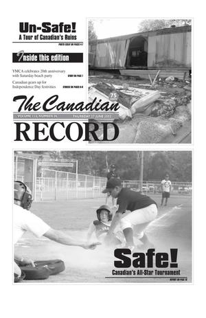 Primary view of object titled 'The Canadian Record (Canadian, Tex.), Vol. 112, No. 26, Ed. 1 Thursday, June 27, 2002'.