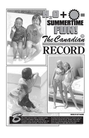 Primary view of object titled 'The Canadian Record (Canadian, Tex.), Vol. 112, No. 29, Ed. 1 Thursday, July 18, 2002'.
