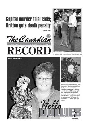 The Canadian Record (Canadian, Tex.), Vol. 112, No. 33, Ed. 1 Thursday, August 15, 2002