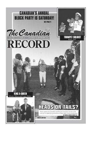 Primary view of object titled 'The Canadian Record (Canadian, Tex.), Vol. 112, No. 39, Ed. 1 Thursday, September 26, 2002'.