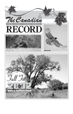 Primary view of object titled 'The Canadian Record (Canadian, Tex.), Vol. 112, No. 42, Ed. 1 Thursday, October 17, 2002'.
