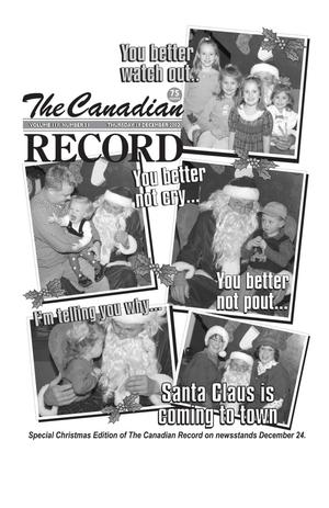 The Canadian Record (Canadian, Tex.), Vol. 112, No. 51, Ed. 1 Thursday, December 19, 2002