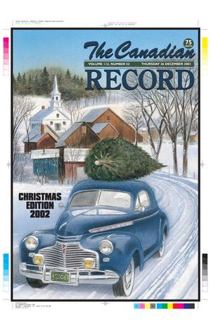 The Canadian Record (Canadian, Tex.), Vol. 112, No. 52, Ed. 1 Thursday, December 26, 2002