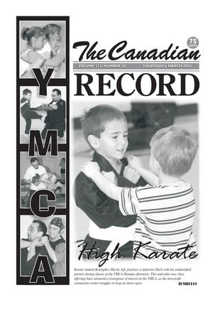 The Canadian Record (Canadian, Tex.), Vol. 113, No. 10, Ed. 1 Thursday, March 6, 2003