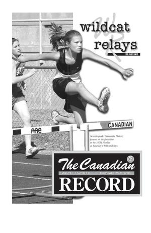 Primary view of object titled 'The Canadian Record (Canadian, Tex.), Vol. 113, No. 11, Ed. 1 Thursday, March 13, 2003'.