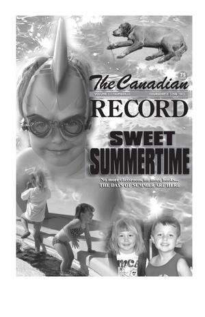 Primary view of object titled 'The Canadian Record (Canadian, Tex.), Vol. 113, No. 23, Ed. 1 Thursday, June 5, 2003'.