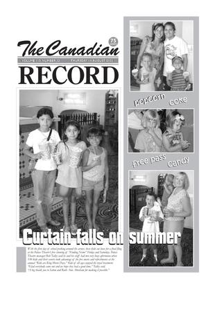 The Canadian Record (Canadian, Tex.), Vol. 113, No. 33, Ed. 1 Thursday, August 14, 2003