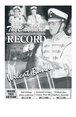 Primary view of object titled 'The Canadian Record (Canadian, Tex.), Vol. 113, No. 41, Ed. 1 Thursday, October 9, 2003'.