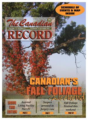 The Canadian Record (Canadian, Tex.), Vol. 113, No. 42, Ed. 1 Thursday, October 16, 2003