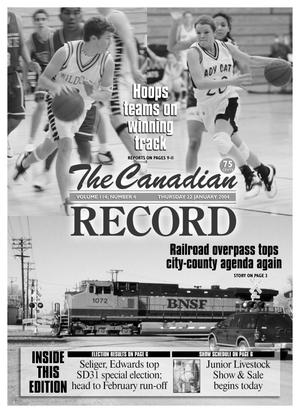 Primary view of object titled 'The Canadian Record (Canadian, Tex.), Vol. 114, No. 4, Ed. 1 Thursday, January 22, 2004'.