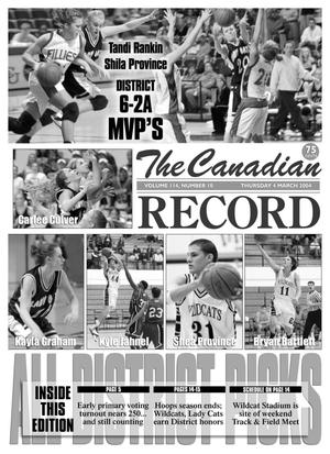 Primary view of object titled 'The Canadian Record (Canadian, Tex.), Vol. 114, No. 10, Ed. 1 Thursday, March 4, 2004'.
