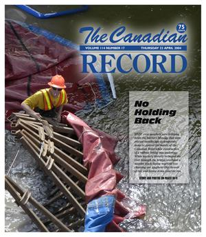 Primary view of object titled 'The Canadian Record (Canadian, Tex.), Vol. 114, No. 17, Ed. 1 Thursday, April 22, 2004'.