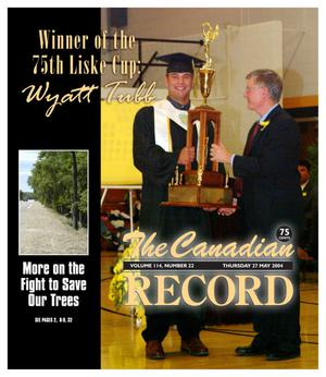 The Canadian Record (Canadian, Tex.), Vol. 114, No. 22, Ed. 1 Thursday, May 27, 2004