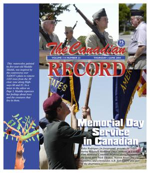 The Canadian Record (Canadian, Tex.), Vol. 114, No. 23, Ed. 1 Thursday, June 3, 2004