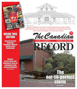 The Canadian Record (Canadian, Tex.), Vol. 114, No. 26, Ed. 1 Thursday, June 24, 2004