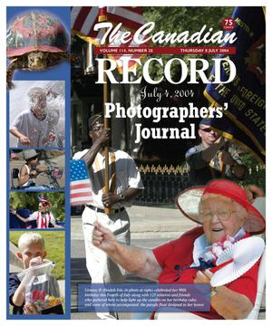 Primary view of object titled 'The Canadian Record (Canadian, Tex.), Vol. 114, No. 28, Ed. 1 Thursday, July 8, 2004'.
