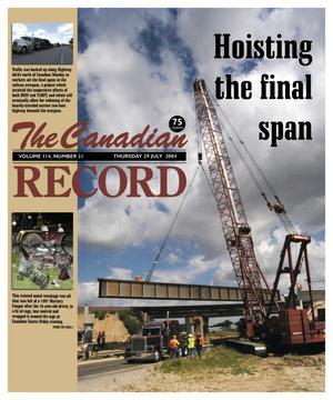 The Canadian Record (Canadian, Tex.), Vol. 114, No. 31, Ed. 1 Thursday, July 29, 2004