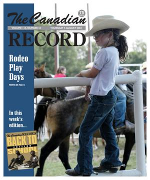 Primary view of object titled 'The Canadian Record (Canadian, Tex.), Vol. 114, No. 32, Ed. 1 Thursday, August 5, 2004'.