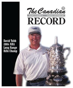 Primary view of object titled 'The Canadian Record (Canadian, Tex.), Vol. 114, No. 36, Ed. 1 Thursday, September 2, 2004'.