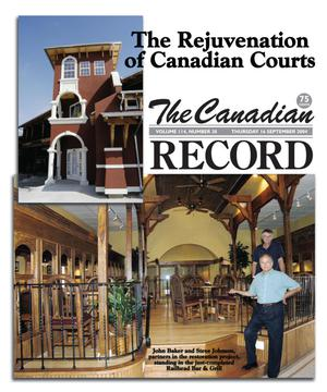 Primary view of object titled 'The Canadian Record (Canadian, Tex.), Vol. 114, No. 38, Ed. 1 Thursday, September 16, 2004'.