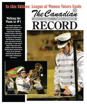 The Canadian Record (Canadian, Tex.), Vol. 114, No. 43, Ed. 1 Thursday, October 21, 2004