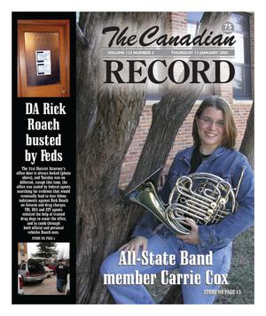 Primary view of object titled 'The Canadian Record (Canadian, Tex.), Vol. 115, No. 2, Ed. 1 Thursday, January 13, 2005'.