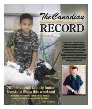 Primary view of object titled 'The Canadian Record (Canadian, Tex.), Vol. 115, No. 3, Ed. 1 Thursday, January 20, 2005'.
