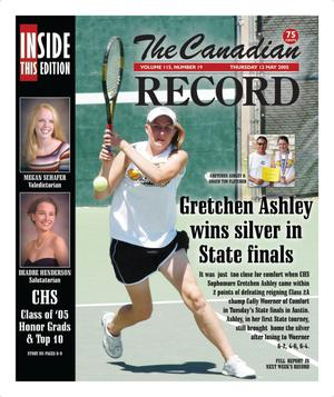 The Canadian Record (Canadian, Tex.), Vol. 115, No. 19, Ed. 1 Thursday, May 12, 2005