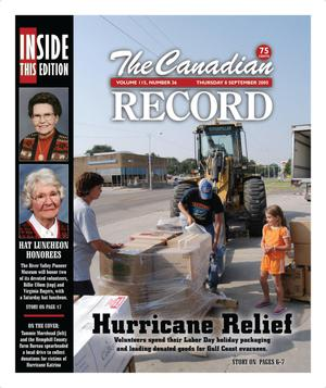 The Canadian Record (Canadian, Tex.), Vol. 115, No. 36, Ed. 1 Thursday, September 8, 2005