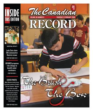 Primary view of object titled 'The Canadian Record (Canadian, Tex.), Vol. 116, No. 6, Ed. 1 Thursday, February 9, 2006'.